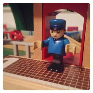 My Wooden Railway Station Master