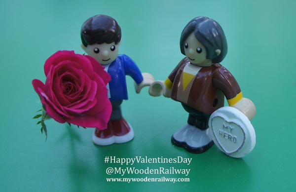Happy Valentine's Day from My Wooden Railway